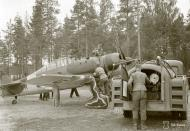 Asisbiz Fokker D XXI FAF 2.LeLv30 FR145 Tiiksjarvi Finland July 1941 79791