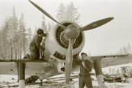 Asisbiz Fokker D XXI FAF 3.LeLv30 FR14x maintenance work minus 26 Tiiksjarvi Airport 1st Nov 1941 05
