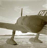 Asisbiz Fokker D XXI FAF 3.LeLv30 Tiiksjarvi Airport 4th Nov 1941 01