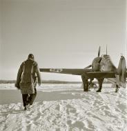 Asisbiz Fokker D XXI FAF 3.LeLv30 at Tiiksjarvi Airport 4th Nov 1941 62492