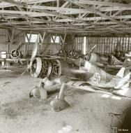 Asisbiz Fokker D XXI FAF FR134 under going maintenance at Vesivehmaa 5th Jun 1943 01