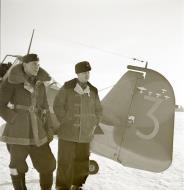Asisbiz Fokker D XXI FAF FR148 at Tiiksjarvi Airport 4th Nov 1941 62488