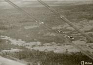 Asisbiz Fokker D XXI FAF LeLv12 and LeLv36 during a raid Aunus 18th Oct 1943 03