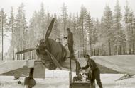 Asisbiz Fokker D XXI FAF maintenance work minus 26 Tiiksjarvi Airport 1st Nov 1941 07