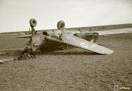 Asisbiz Morane Saulnier MS 406 FAF MS316 landing mishap Llanas Latva 14th May 1942 87724