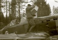 Asisbiz Morane Saulnier MS 406 FAF MS625 Capt Tainio at Tiiksjarvi 26th May 1943 129281