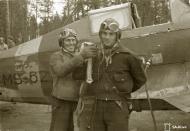 Asisbiz Morane Saulnier MS 406 FAF MS625 Capt Tainio at Tiiksjarvi 26th May 1943 129288