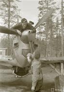 Asisbiz Morane Saulnier MS 406 FAF MSxxx Lt Salonen at Tiiksjarvi 10th Jun 1943 04