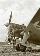 Asisbiz Morane Saulnier MS 406 FAF maintenance Naaravaara Airport Finland 28th Jun 1941 21063