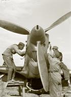 Asisbiz Morane Saulnier MS 406 FAF maintenance Naaravaara Airport Finland 28th Jun 1941 21064