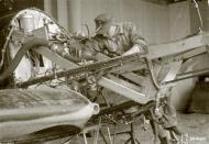 Asisbiz Morane Saulnier MS 406 FAF under repair at Tiiksjarvi 26th May 1943 129295