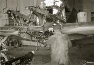Asisbiz Morane Saulnier MS 406 FAF under repair at Tiiksjarvi 26th May 1943 129296