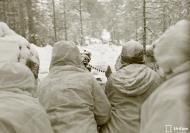 Asisbiz Finnish Maxim M32 machine gun nest firing on a Soviet positions 5km N of Lemeti area 21st Jan 1940 3533