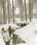 Asisbiz Finnish army constructed a defensive trench system around Kuhmo Winter War 1st Feb 1940 9298