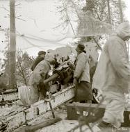 Asisbiz Finnish artillery firing on Soviet positions around Vyborg Winter War 4th Mar 1940 5395