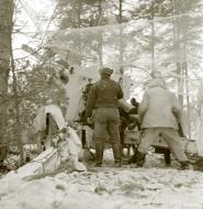 Asisbiz Finnish artillery firing on Soviet positions around Vyborg Winter War 4th Mar 1940 5399