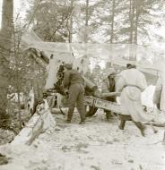 Asisbiz Finnish artillery firing on Soviet positions around Vyborg Winter War 4th Mar 1940 5403