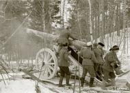 Asisbiz Finnish heavy artillery firing on Soviet positions in the Impilahti area Winter War 1st Feb 1940 3923