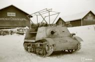 Asisbiz Finnish ingenuity refurbished tank into a troop carrier Rovaniemi Winter War 3rd Jan 1940 a 223