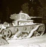 Asisbiz Soviet T26B tank captured on the Raate road Suomussalmi Raate Winter War 1st Jan 1940 fu 2511