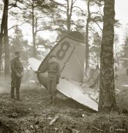 Asisbiz Soviet Tupolev SB 2M 1MTAB Baltic Fleet Red 8 shot down raid on Helsinki 30th Nov 1939 1534