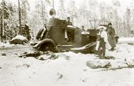 Asisbiz Soviet armored car captured near Lake Tolvajarvi area Winter War 19th Dec 1939 2549