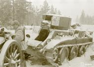 Asisbiz Soviet army column destroyed 4km north of Lemeti area Winter War 22nd Jan 1940 3525