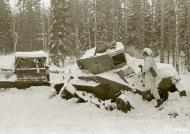 Asisbiz Soviet army column destroyed 4km north of Lemeti area Winter War 22nd Jan 1940 3545