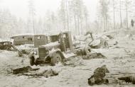Asisbiz Soviet forces were decimated around Tenhamonmaki area West Lemetti Winter War 2nd Feb 1940 a 666