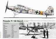 Asisbiz Fieseler Fi 156 Storch coded QK in winter camouflage and using skies Russia 0A