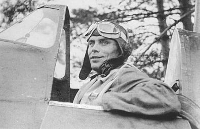 Aircrew FAF ace Lentomestari Tuominen Fiat G50 Freccia FAF 1.LeLv26 FA3 MM4724 Finland 1941