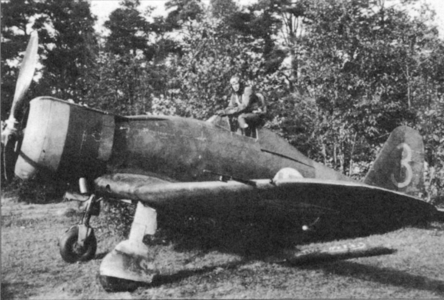 Fiat G50 Freccia FAF 3.LeLv26 FA6 MM4727 Kersantti T. Bergman Lunkula Sep 1941 Revi 29 P17