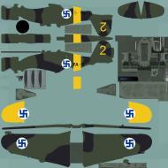 Asisbiz COD asisbiz Fiat G50 Freccia FAF FA5 MM3610 No 2 Finland 1941