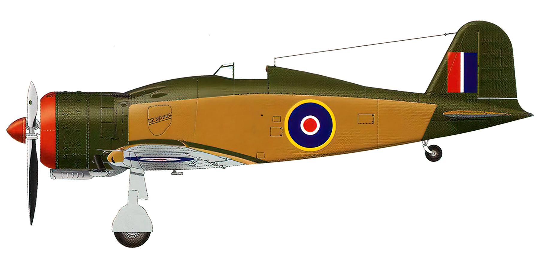 Fiat G50 Freccia SAAF De Moynes captured Italy 1943 0A