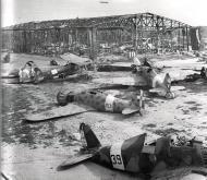 Asisbiz Fiat G50 Freccia abandoned RA aircraft at Salerno with 160 Gruppo 393 Squadriglia 393 7 Sep 1943 IWM 01