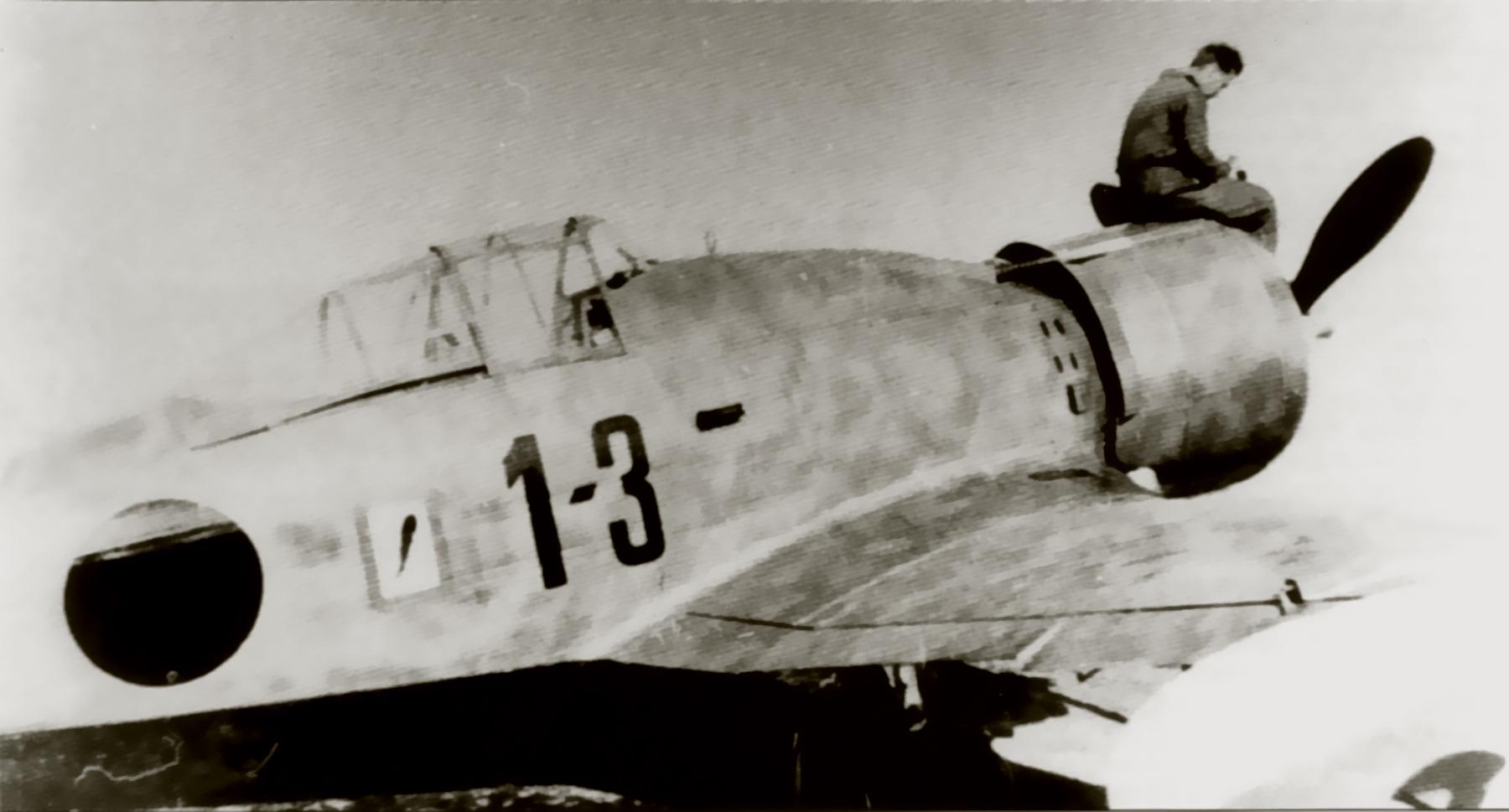 Fiat G50 Aviazione Legionaria 13 Gruppo Caccia 3 MM3586 Esciona Spain May 1939 02