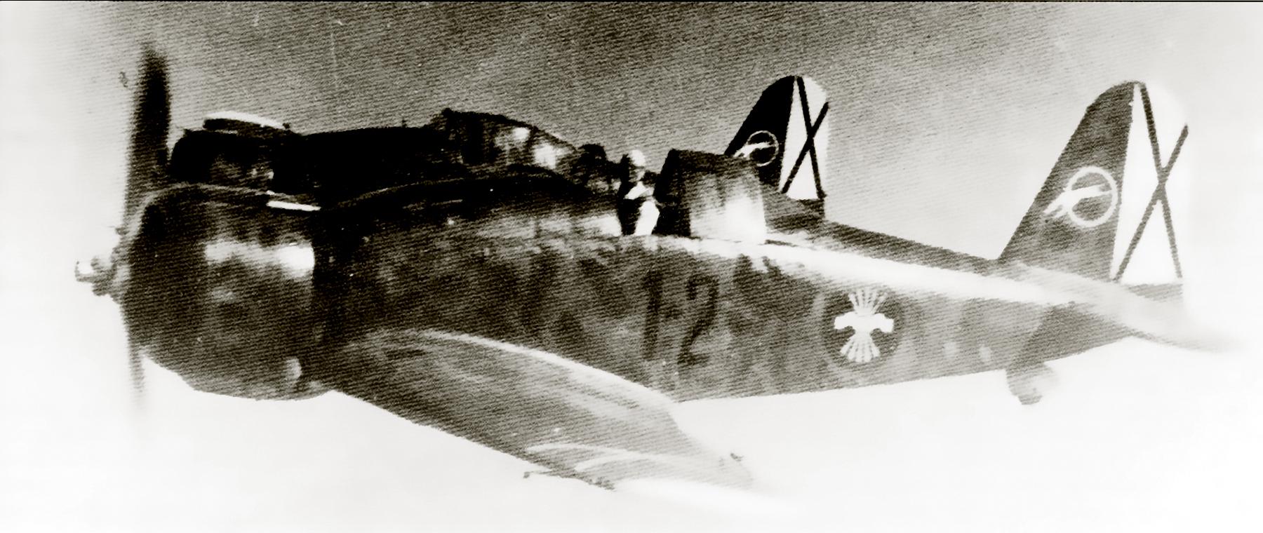 Fiat G50 Freccia Aviacion Nacional 27 Gruppo de Caza 2 Sevilla Tablada Spain Jun 1939 01