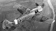 Asisbiz Focke Wulf Fw 190A4 WNr 50046 in USAAF hands with nonstandard markings 01