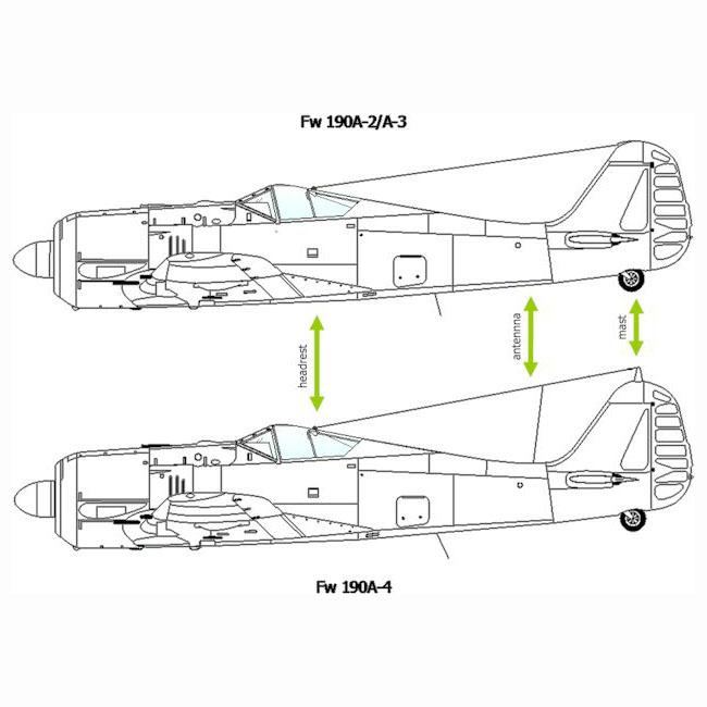 Art-technical-drawing-Focke-Wulf-Fw-190-