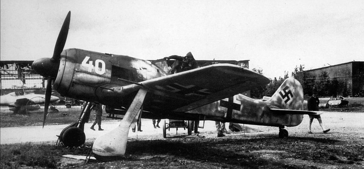Fw 190 Absturz