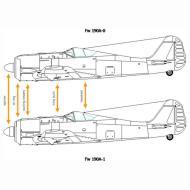 Asisbiz Art technical drawing Focke Wulf Fw 190 Variants 02