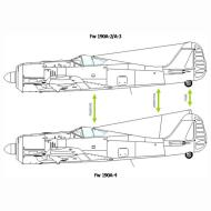 Asisbiz Art technical drawing Focke Wulf Fw 190 Variants 04