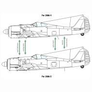 Asisbiz Art technical drawing Focke Wulf Fw 190 Variants 05