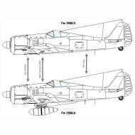 Asisbiz Art technical drawing Focke Wulf Fw 190 Variants 06