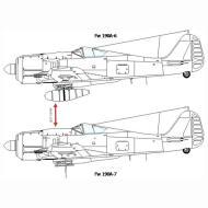Asisbiz Art technical drawing Focke Wulf Fw 190 Variants 07