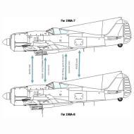 Asisbiz Art technical drawing Focke Wulf Fw 190 Variants 08