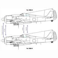 Asisbiz Art technical drawing Focke Wulf Fw 190 Variants 09