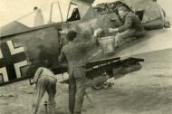 Asisbiz Focke Wulf Fw 190A8 or F8 unknown unit being readied for its next mission ebay 01