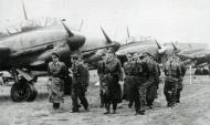 Asisbiz Aircrew General der Jagdflieger Adolf Galland inspects Ekdo 25 Achmer 1943 03