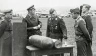 Asisbiz Aircrew General der Jagdflieger Adolf Galland inspects Ekdo 25 Achmer 1943 06